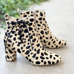 Matisse Kristall Calf Hair Cheetah Print Boots